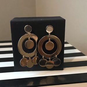 Jewelry - Gold Statement Earrings.